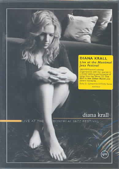 LIVE AT THE MONTREAL JAZZ FESTIVAL BY KRALL,DIANA (DVD)